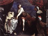 Francesco Furini Judith and Holofernes painting