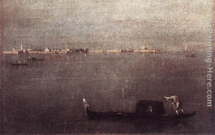 Francesco Guardi Gondola