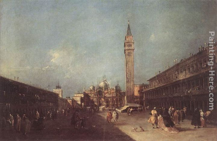 Francesco Guardi Piazza San Marco