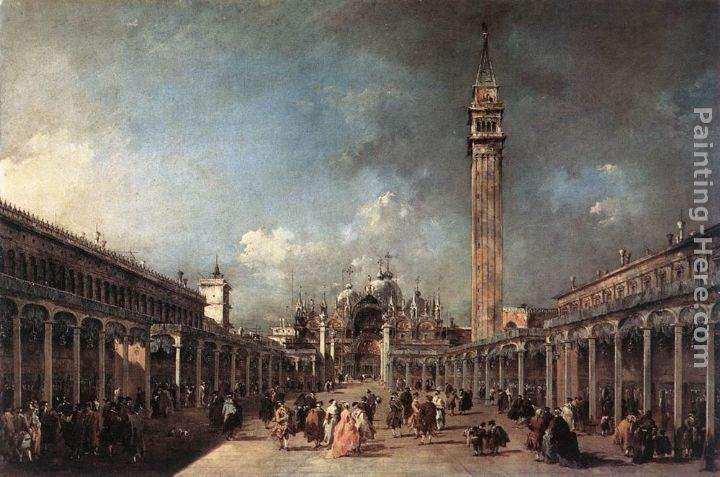 Francesco Guardi Piazza di San Marco