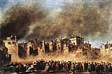 Francesco Guardi Fire in the Oil Depot at San Marcuola painting