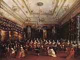 Francesco Guardi Ladies Concert at the Philharmonic Hall painting