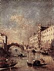 Francesco Guardi Rio dei Mendicanti painting