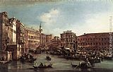 Francesco Guardi The Rialto Bridge with the Palazzo dei Camerlenghi painting
