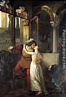 Francesco Hayez The Last Kiss of Romeo and Juliet painting