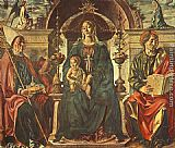 Francesco del Cossa Madonna with the Child and Saints painting