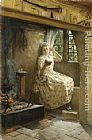 Francis Davis Millet A Cosey Corner painting