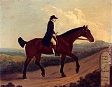 Francis Sartorius A Horseman On The Road To Bagshot painting
