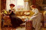 Francis Sidney Muschamp Fortune Telling painting