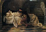Francis Sidney Muschamp Romeo and Juliet painting