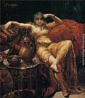 Francisco Masriera y Manovens An Odalisque painting