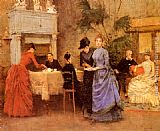 Francisco Miralles Afternoon Tea painting