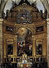 Francisco Rizi Altarpiece painting