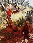 Frank Cadogan Cowper Saint Francis of Assisi painting