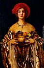 Frank Cadogan Cowper The Golden Bowl painting