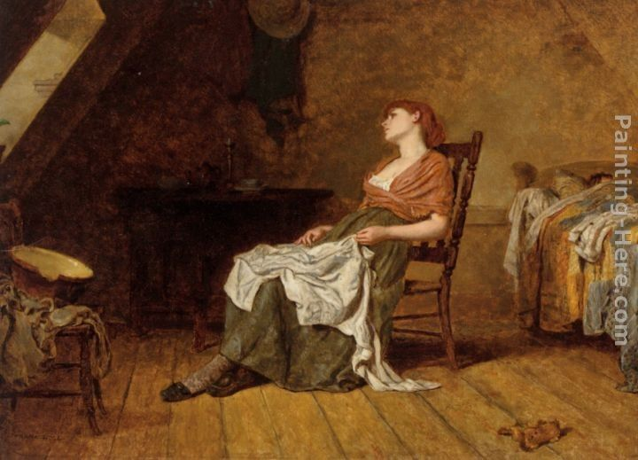 Frank Holl Far Away Thoughts