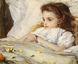 Frank Holl The Convalescent painting