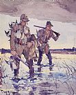 Frank Weston Benson Two Duck Hunters painting