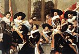 Frans Hals Banquet of the Officers of the St George Civic Guard Company painting