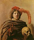 Frans Hals Boy with a Skull painting