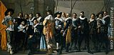 Frans Hals Company of Captain Reinier Reael, known as the 'Meagre Company' painting