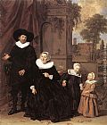 Frans Hals Family Portrait painting