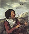 Frans Hals Fisher Girl painting