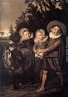 Frans Hals Group of Children painting