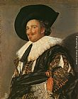 Frans Hals The Laughing Cavalier painting