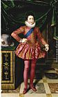 Frans Pourbus the Younger Louis XIII as a Child painting