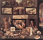 Frans the younger Francken Art Room painting