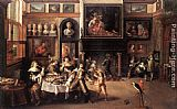 Frans the younger Francken Supper at the House of Burgomaster Rockox painting