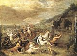 Frans the younger Francken Triumph of Amphitrite painting
