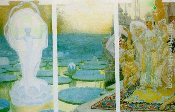 Frantisek Kupka The Lotus Soul