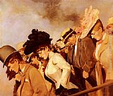 Franz Dvorak At The Races painting