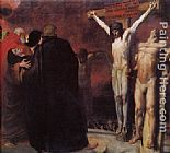 Franz von Stuck Crucifixion painting