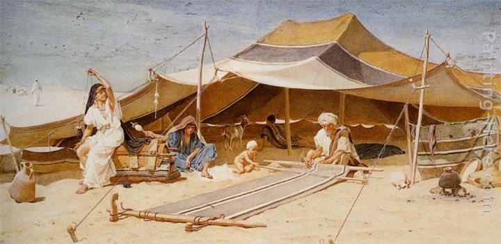 Frederick Goodall Spinners and Weavers