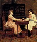 Frederick Goodall Old Maid painting