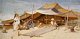 Frederick Goodall Spinners and Weavers painting