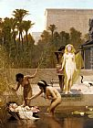 Frederick Goodall The Finding of Moses painting