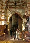 Frederick Goodall The Grand Bazaar painting