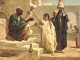 Frederick Goodall The Song of the Nubian Slave painting