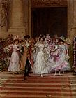 Frederick Hendrik Kaemmerer The Wedding, Church Of St. Roch, Paris painting