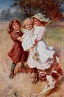 Frederick Morgan Good Friends painting
