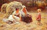Frederick Morgan Midday Rest painting