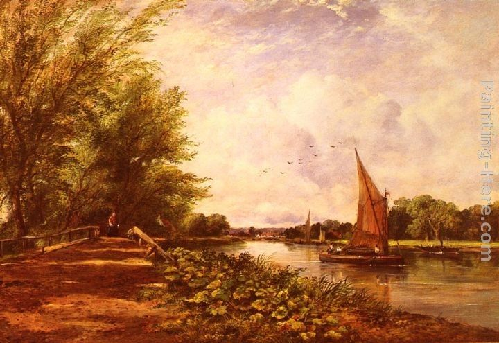 Frederick Waters Watts The Riverbank