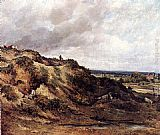 Frederick Waters Watts View Of Hampstead Heath painting