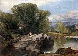 Frederick William Hulme Bettws y Coed painting