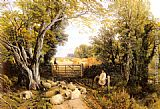Frederick William Hulme Landscape in Wales painting