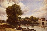 Frederick William Watts Along The River painting